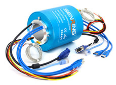 BH2599 Series Industrial Bus Slip Ring(CanBus、Profibus,etc)