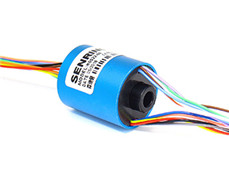 H0522 miniature through hole slip ring|Miniature slip ring