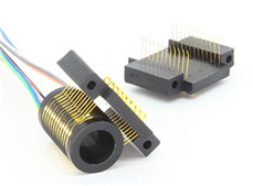 S010-06 Series 6 Channels Miniature Separate Slip Ring(Hole Size 9.55mm)