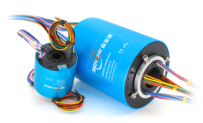 H Through Hole Slip Ring Series(through Bore Slip Ring) image 2