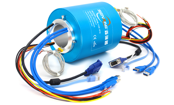 H Through Hole Slip Ring Series(through Bore Slip Ring) image 3